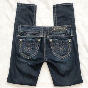 Rock Revival Adele Skinny Jeans Size 27